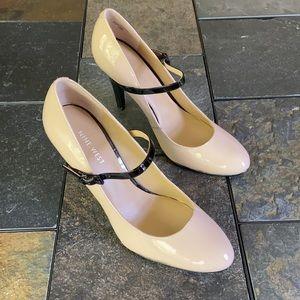 Nine West 'Sheryl' Nude Heels (NIB)